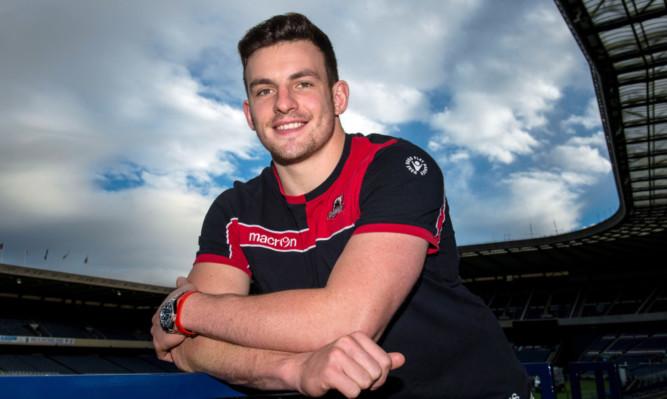 Matt Scott: back for Edinburgh against Munster tonight.