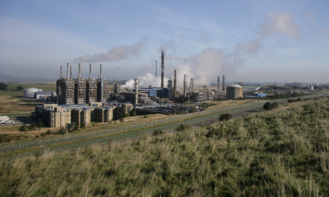 The Fife Ethylene Plant is owned by ExxonMobil.