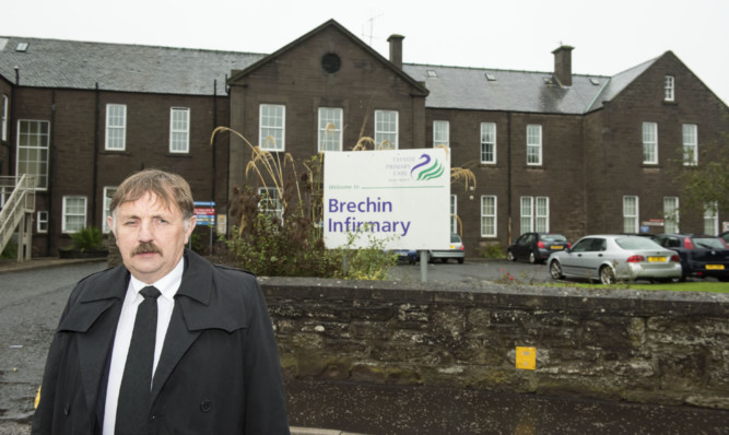 Councillor Bob Myles does not think there is any appetite in NHS Tayside to reopen the infirmary.