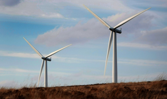 ABO Wind wants to build a windfarm between Alyth and Bridge of Cally