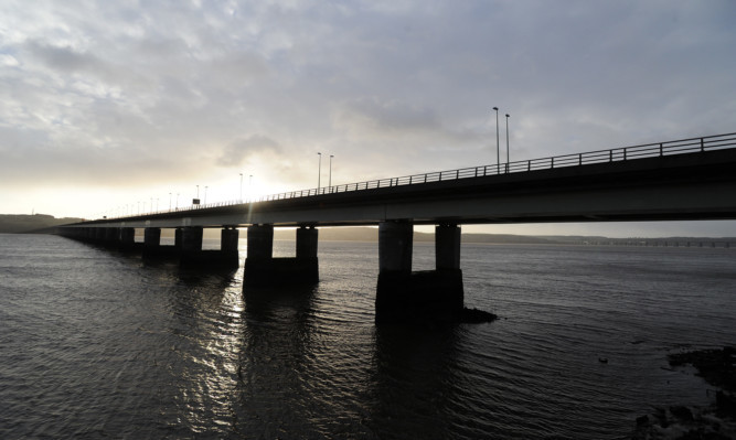 The 52-year-old was last seen on the Tay Road Bridge on Friday night.