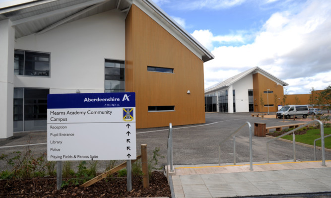 The new Mearns Academy Community Campus in Laurencekirk.