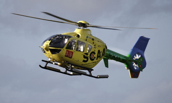 The new charity air ambulance.