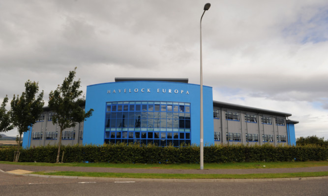 Havelock Europa's Kirkcaldy headquarters