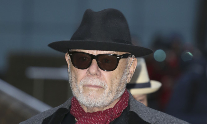 Gary Glitter, whose real name is Paul Gadd, was jailed for 16 years in February.