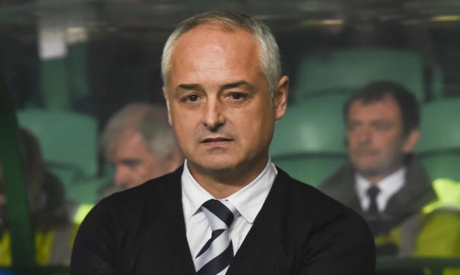 Raith Rovers manager Ray Mckinnon.