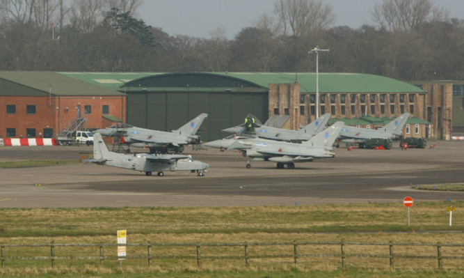 Hopes that a full-time RAF presence at Leuchars might be restored look like being dashed.