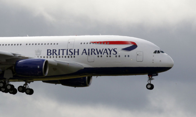 The new British Airways Airbus A380 arrives at Heathrow Airport PRESS ASSOCIATION Photo. Picture date: Thursday July 4, 2013. See PA story TRANSPORT . Photo credit should read: Steve Parsons/PA Wire