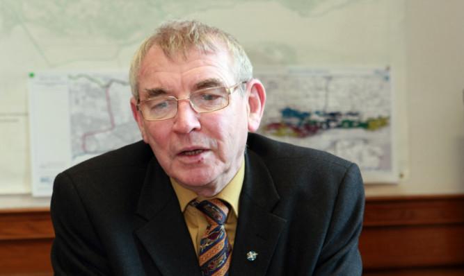 Dundee City Council leader Ken Guild.