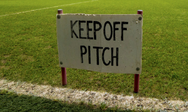 A number of games have been called off due to waterlogging or high winds.