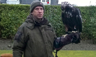 Les Gibson reunited with Odin in Edzell