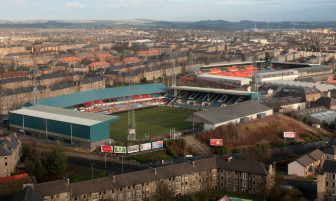 Dundee's Dens Park and United's Tannadice Park.