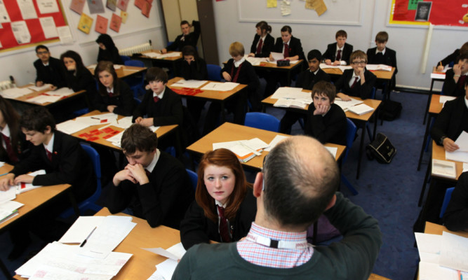 Research says class sizes can adversely affect pupils' chances of reaching their education potential. (library photo)
