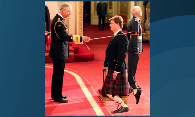 Danny Alexander is knighted.