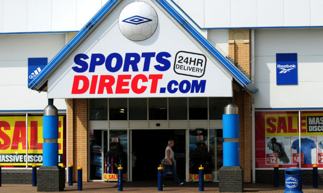 General view of Sports Direct in Tamworth.   PRESS ASSOCIATION Photo. Picture date: Thursday August 8, 2013. See PA story CONSUMER Next. Photo credit should read: Rui Vieira/PA Wire