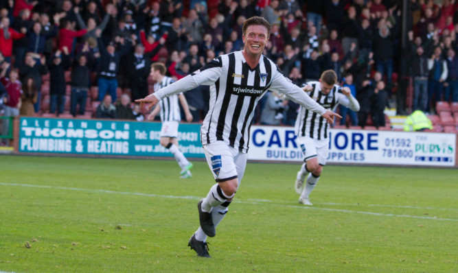 Joe Cardle will be free to play against Stenhousemuir and Forfar after his red card appeal was successful.