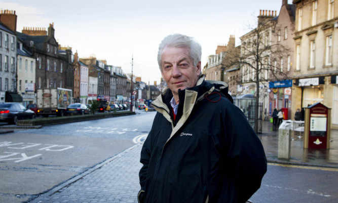 Montrose councillor David May.