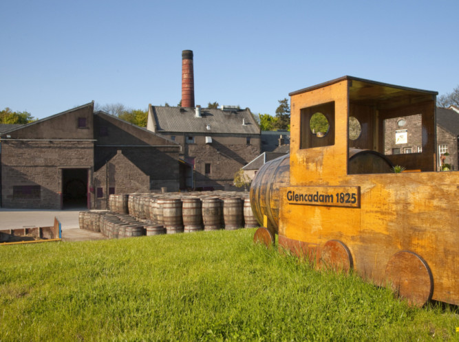Glencadams award-winning Single Scotch Malt Whisky is produced at the distillery in Brechin.