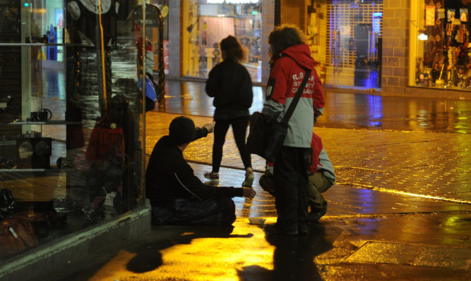 More than 100 people make homelessness applications to Dundee City Council each month.