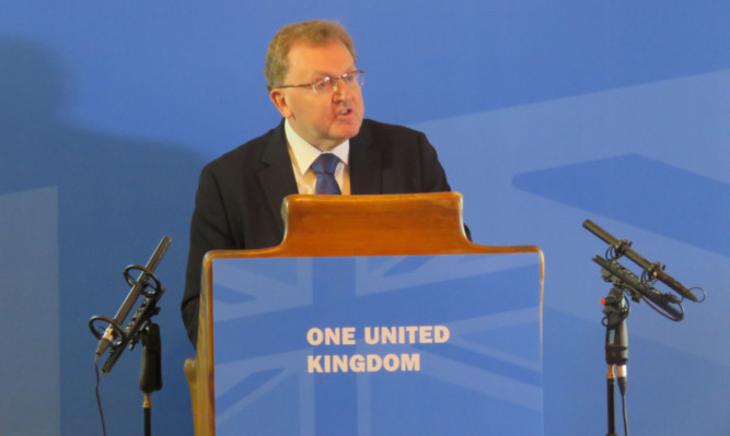 David Mundell has warned Scottish cities could be left behind compared to English ones.