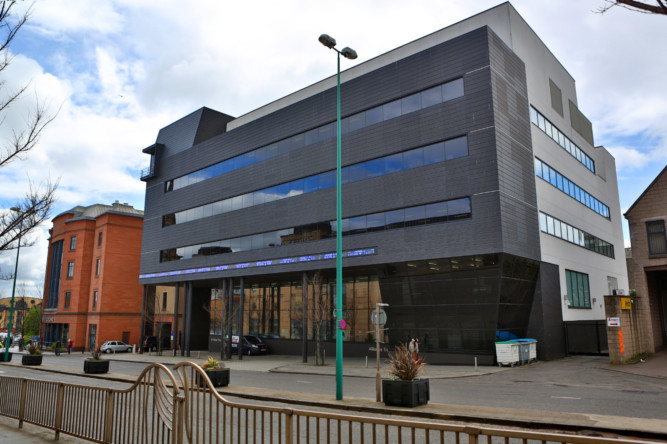 Alliance Trusts corporate headquarters on West Marketgait in Dundee.