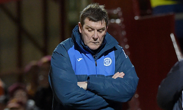 The footballing year didn't end well for Tommy Wright.