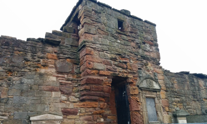 The Haunted Tower of St Andrews Cathedral where centuries-old corpses were discovered in the 19th century