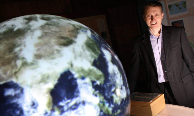 Perth-based Royal Scottish Geographical Society chief executive Mike Robinson