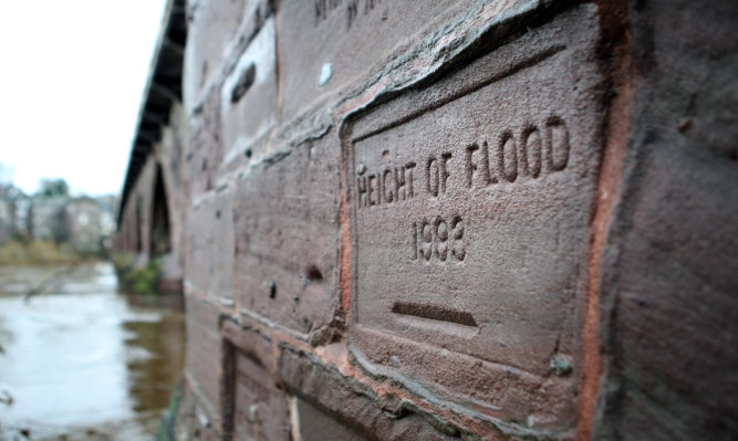 The city had a lucky escape after flood defences saved the area from serious flooding three times within a week.