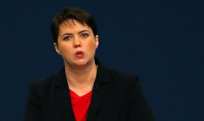Scottish Conservative leader Ruth Davidson.
