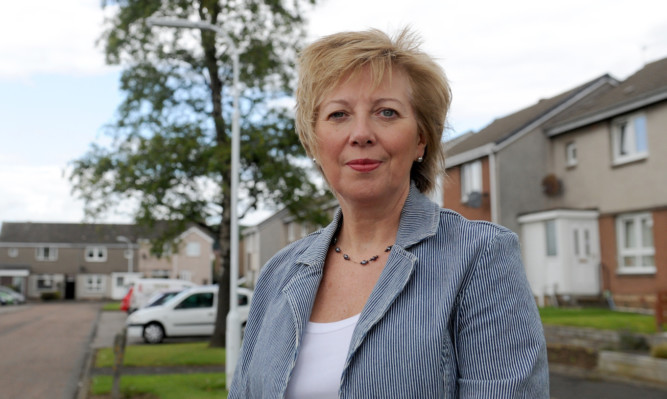 The deputy leader of Fife Council, Lesley Laird.