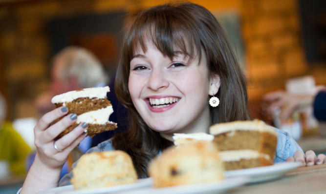 Teenager Flora Shedden was a star of last years Great British Bake Off.
