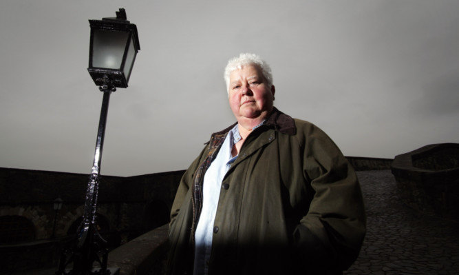 Val McDermid was in the USA when her home in Stockport was targeted.