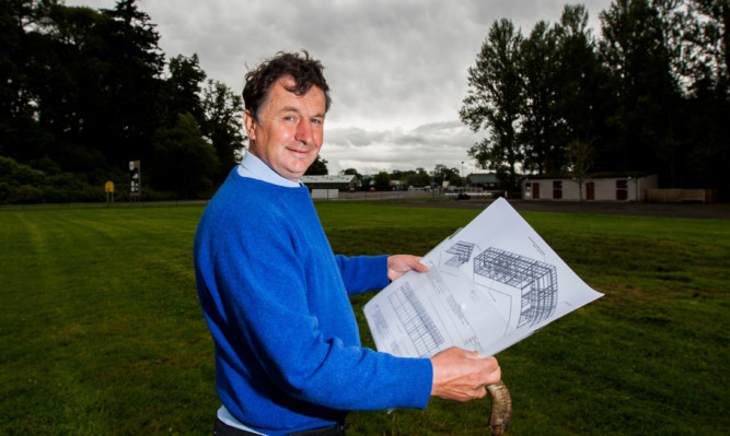 Sam Morshead is overseeing the plans for a £1.5 million, 26-bedroom boutique hotel as an addition to Perth Racecourse.