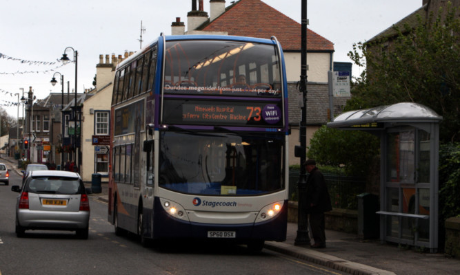 Stagecoach are one of five bus companies working together on the contactless plan