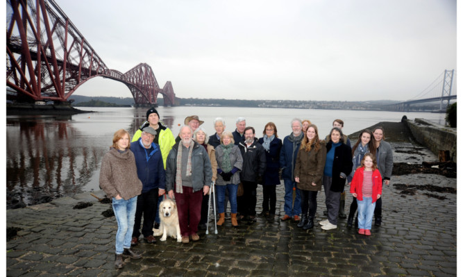 Members of the Help Our North Queensferry action group have complained about Fife Councils decision to seek funding for a pontoon rather than repair the existing pier.