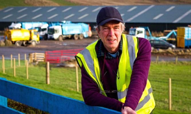 John Ferguson of the Binn Eco Park project.