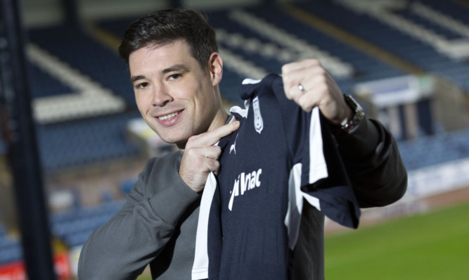 Dundee fans will be excited to see new signing Darren O'Dea in action  if there's a pitch to play on.