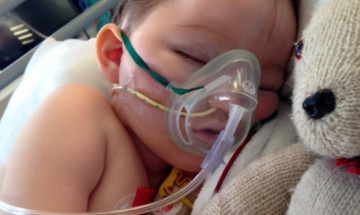 The family asked people to keep Blake in their thoughts as he battles serious illness.