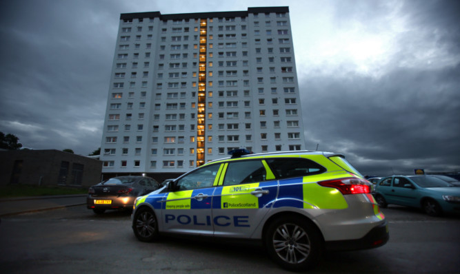 Police had fewer offenders to deal with in Dundee last year than in 2014.