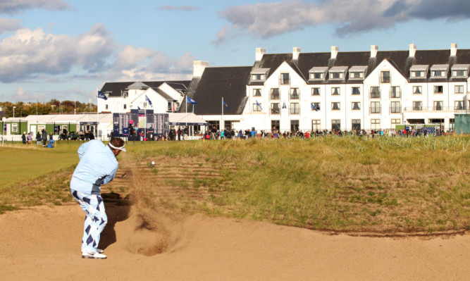 Golf tourism could be worth millions of pounds to Carnoustie and Angus.