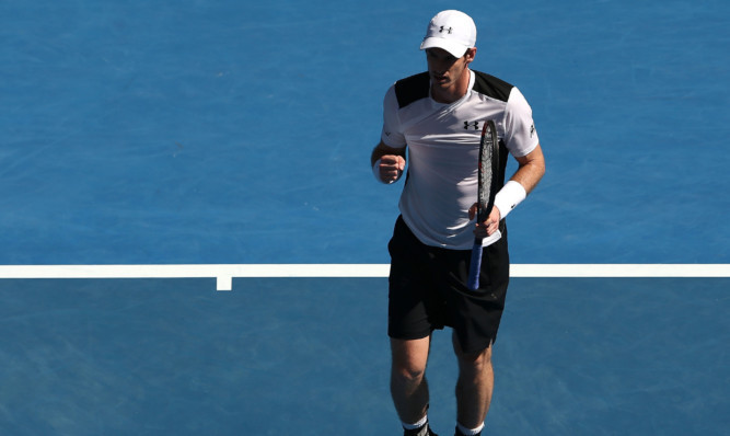 Job done for Andy Murray.