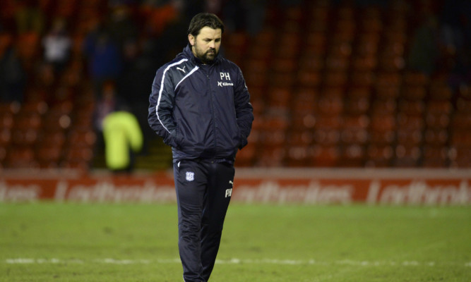 Paul Hartley saw the positives in his side's display despite them going down to an Adam Rooney goal at Pittodre.