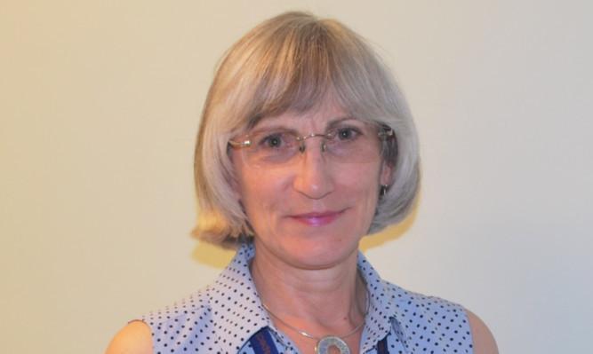 NHS Fife medical director Dr Frances Elliot.