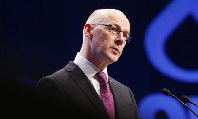 Deputy First Minister John Swinney said the SNP is committed to investing in education.