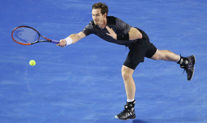 Andy Murray is now in the last eight of the tournament after beating Tomic