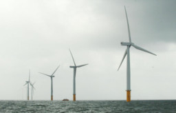 offshore windfarms File photo dated 21/08/08 of an offshore wind farm as the Scottish Government has granted consent for four major offshore wind farms that could generate enough energy to power 1.4 million homes.