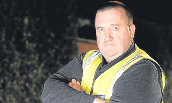 Kenny Watson wants to set up a private security force in Levenmouth.