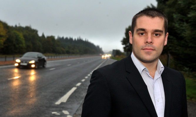 Mike Burns accused the Scottish Government authority of massaging the accident statistics.