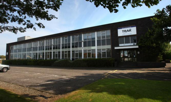 TRAK Microwaves base at Dunsinane Industrial Estate in Dundee.